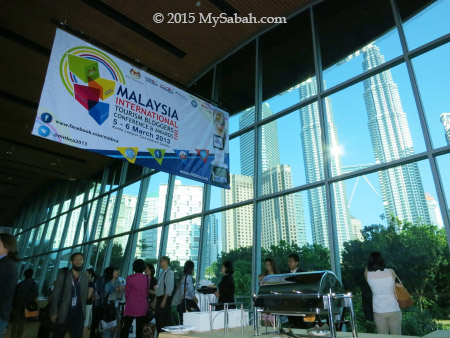 venue of Malaysia International Tourism Blogger Conference and Awards