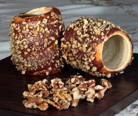 Nutella walnut Kürtös Kalács