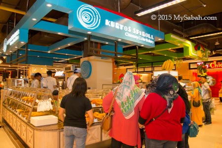 Kurtos Spiroll in Imago Mall of Kota Kinabalu