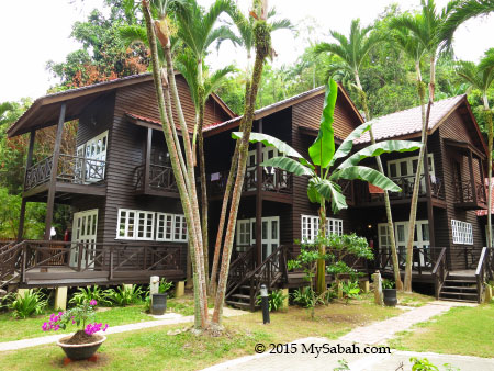 Punai and Tuna Chalets of Manukan Island Resort