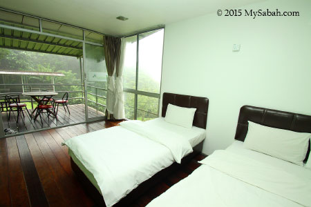 bedroom of J Residence
