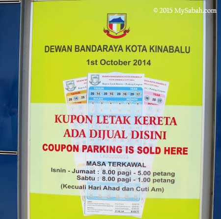 Coupon Parking System of Kota Kinabalu City Hall (DBKK)
