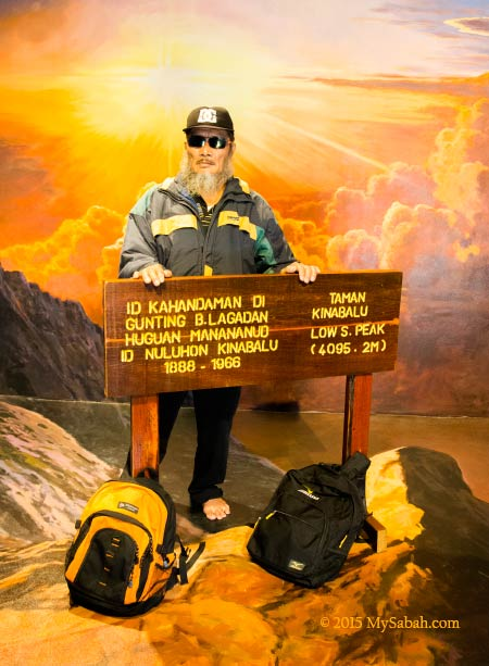 summit of Mt. Kinabalu in 3D Wonders Museum
