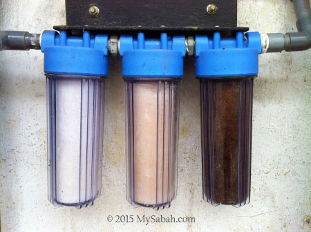 dirty water filters