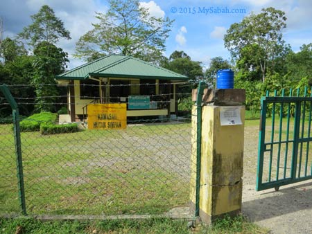 Forestry Office of Bukit Taviu Forest Reserve