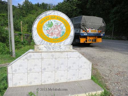 Heart of Borneo monument