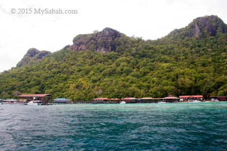 Sabah Parks center on Bohey Dulang