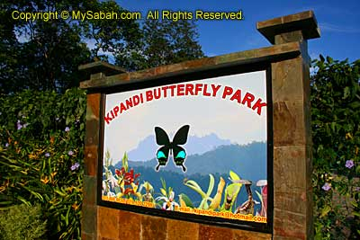 Entrance of Kipandi Butterfly Park