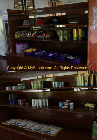 Shop in Maliau Basin Studies Centre (MBSC)
