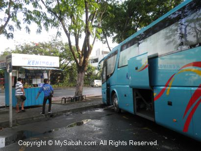 Bus station to Keningau
