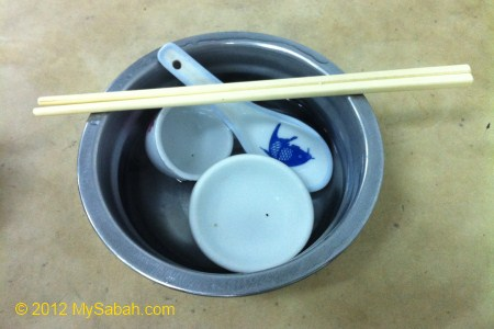 boil water cleaning
