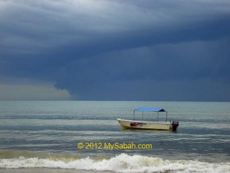 rainstorm approaching