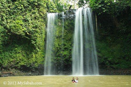 waterfall pond