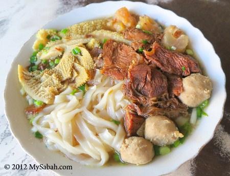 Beef Noodle of Kedai Cheng Wah (精華冰室)