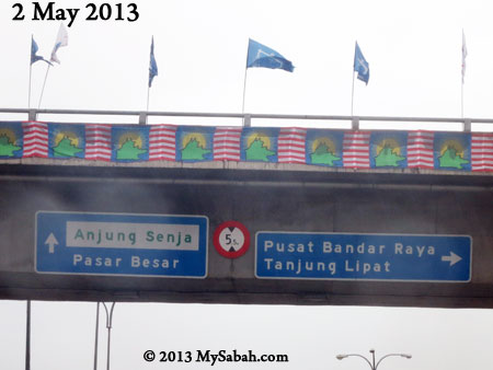 party flags in KK
