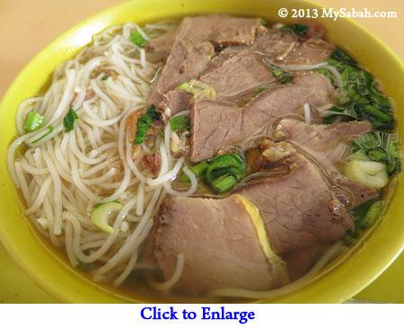 Soto Daging noodle soup