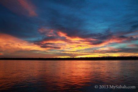 sunset of Weston