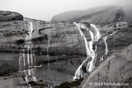 rainy day on Mt. Kinabalu