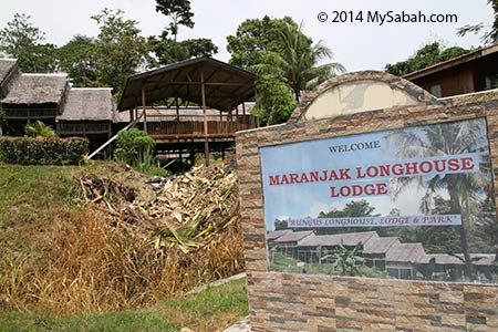 Maranjak Longhouse Lodge in Kudat
