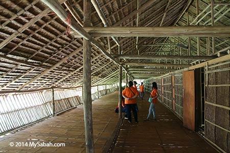 corridor of longhouse