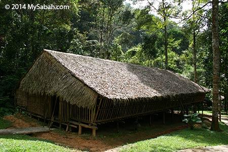 traditional Rungus longhouse