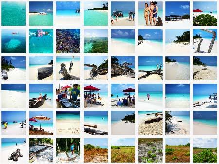 Photo album of Mengalum Island