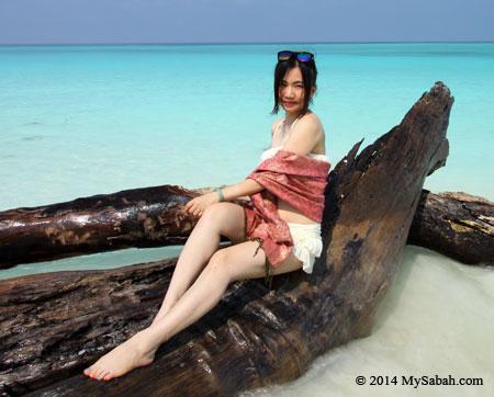 photo shot on Mengalum Island