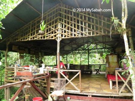 activity hall of Lupa Masa Jungle Camp