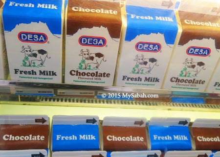 fresh milk by DESA