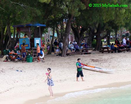 lifeguard in Manukan