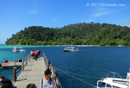 jetty of Sapi island