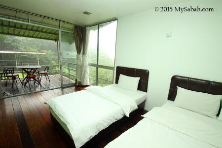 bedroom of J Residence