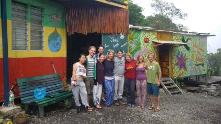 group photo of Jungle Jack Backpacker