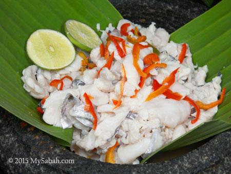 Hinava, Kadazan food