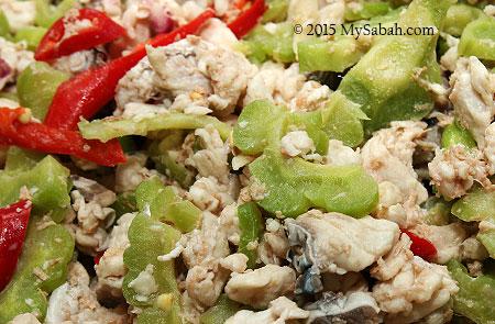 Hinava fish salad
