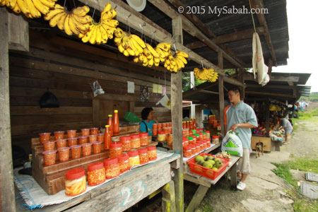 Tuhau and Bambangan pickles for sale