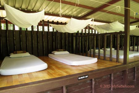 beds with mosquito net