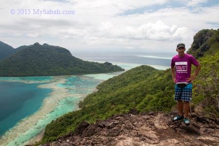 top of Bohey Dulang
