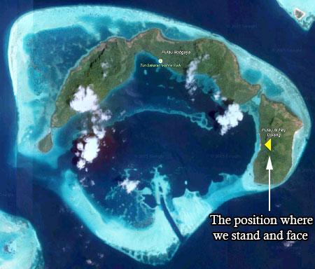 aerial photo of Tun Sakaran Marine Park