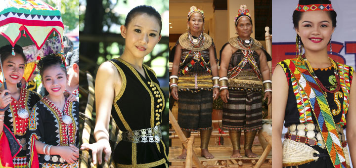 Traditional costumes of Sabah