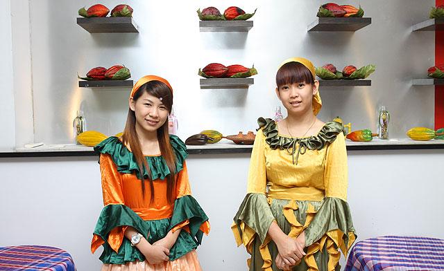 Cocoa museum girls