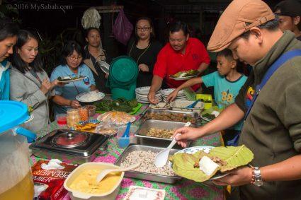 Feast on local food