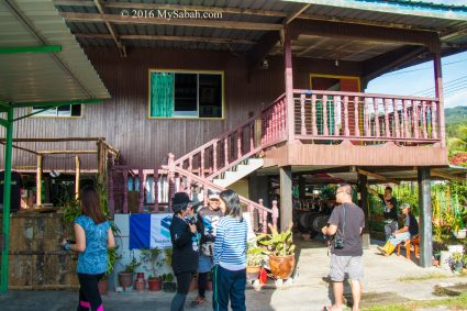 One of the houses of Sunsuron Homestay