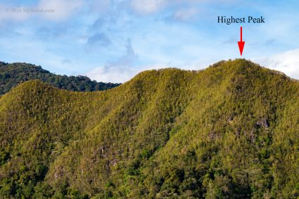 Mount Wakid (Gunung Wakid)