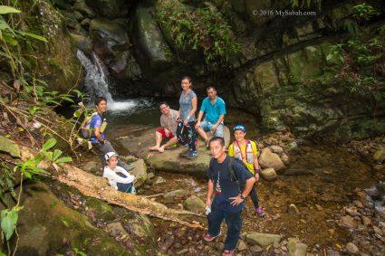 Small Kolopis Sunsuron Waterfall