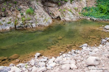 Crystal clear water of Sunsuron River