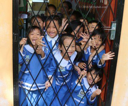 Lovely children of Tambunan