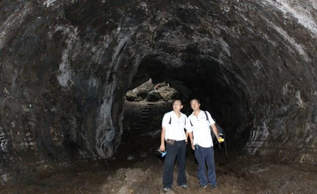 Japanese war tunnel