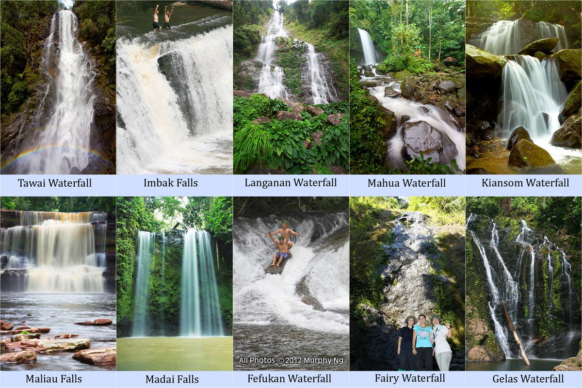 Sabah's Top 10 Waterfalls