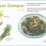 Sayur Campuran (mixed vegetables)
